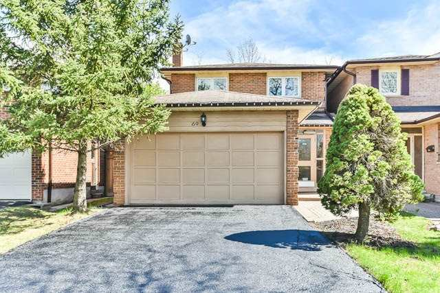 For Sale: 69 Delmark Boulevard, Markham, ON   3 Bed, 4 Bath Home for $865,000. See 20 photos!
