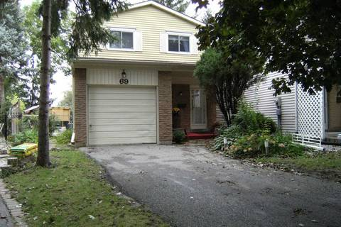 Home for sale at 69 Donnamora Cres Markham Ontario - MLS: N4402400