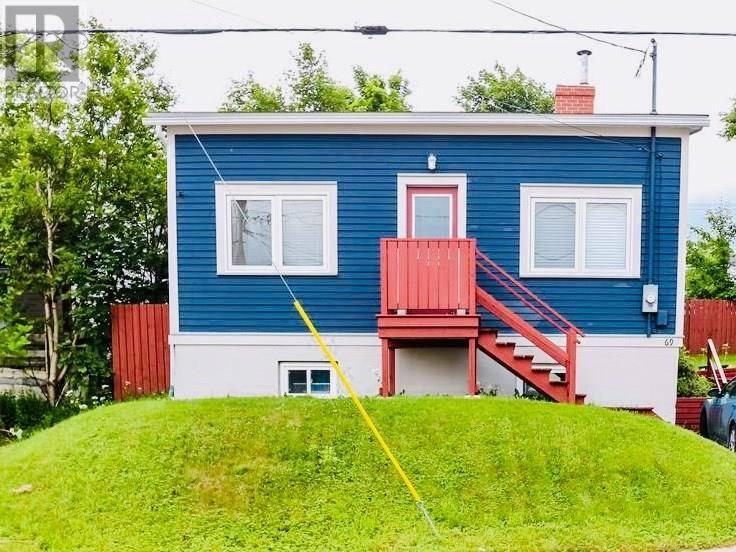 House for sale at 69 Goodridge St St. John's Newfoundland - MLS: 1200309