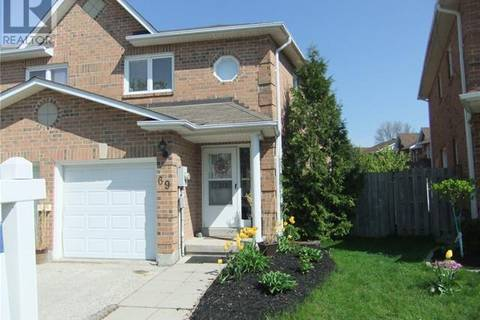 Townhouse for sale at 69 Lyfytt Cres Barrie Ontario - MLS: 30743869