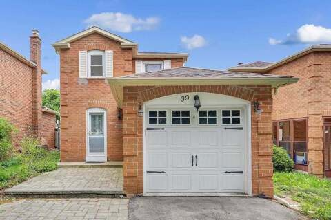 House for sale at 69 Miley Dr Markham Ontario - MLS: N4776002