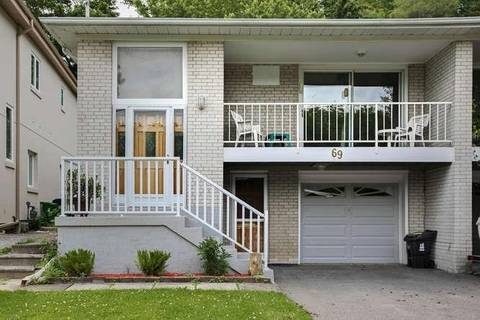 Townhouse for sale at 69 Northey Dr Toronto Ontario - MLS: C4504636