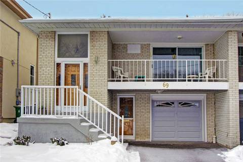 Townhouse for sale at 69 Northey Dr Toronto Ontario - MLS: C4694690