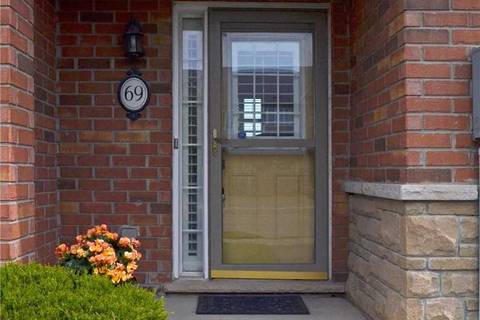 Townhouse for sale at 69 Palacebeach Tr Hamilton Ontario - MLS: X4452993