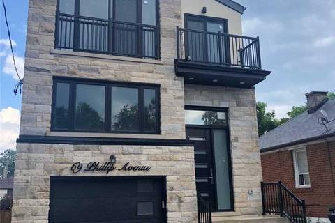 House for sale at 69 Phillip Ave Toronto Ontario - MLS: E4531472