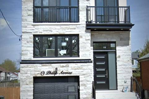 House for sale at 69 Phillip Ave Toronto Ontario - MLS: E4733952