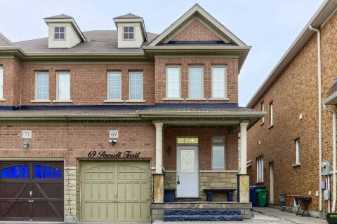 Townhouse for sale at 69 Pomell Tr Brampton Ontario - MLS: W5085619
