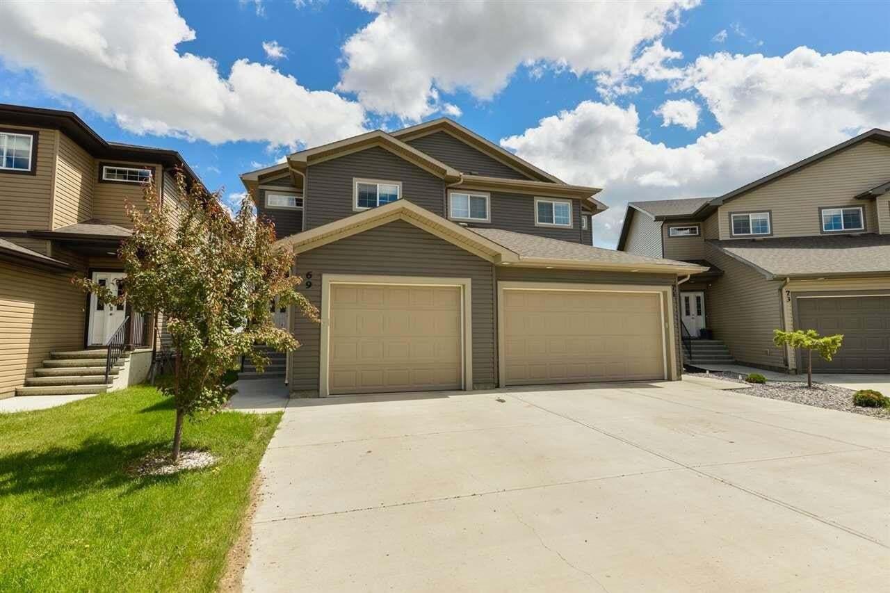 Townhouse for sale at 69 Richmond Li Fort Saskatchewan Alberta - MLS: E4212461