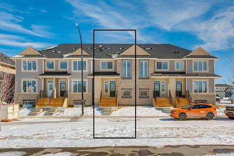 Townhouse for sale at 69 Willow Green Wy Cochrane Alberta - MLS: C4289819