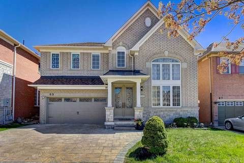 House for sale at 69 Winston Castle Dr Markham Ontario - MLS: N4438256