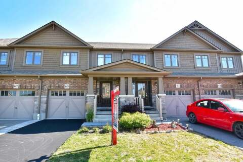 Townhouse for sale at 69 Winterton Ct Orangeville Ontario - MLS: W4863463