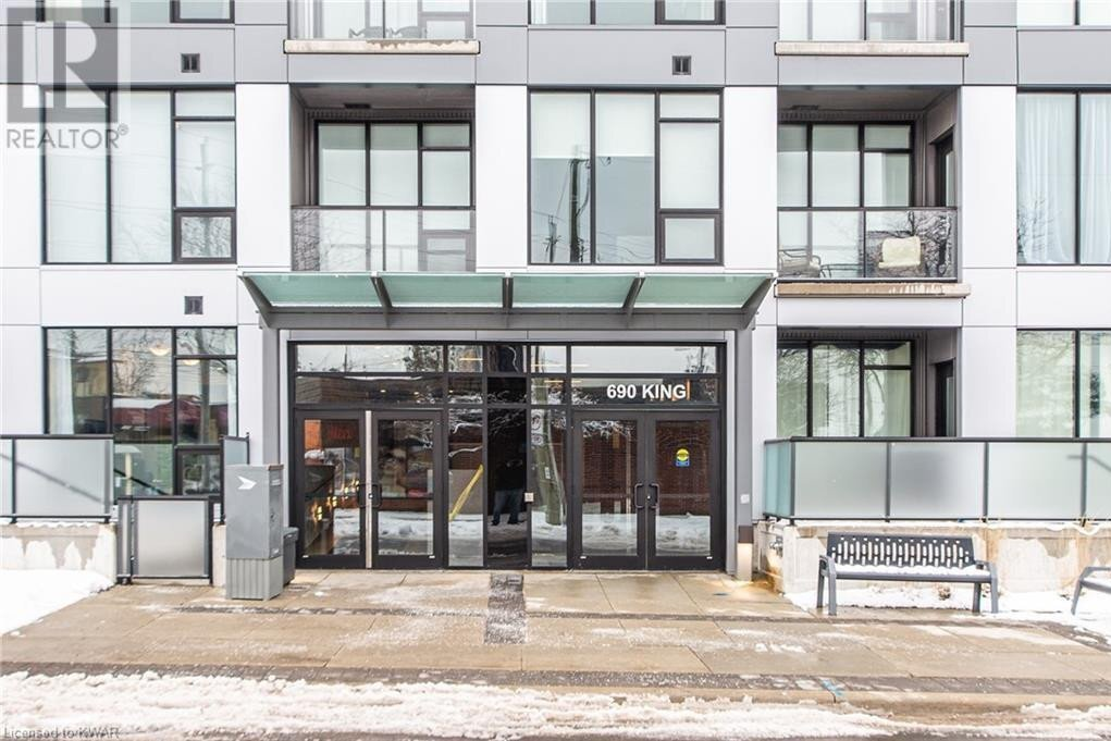 Condo for sale at 690 King St West Kitchener Ontario - MLS: 40054559