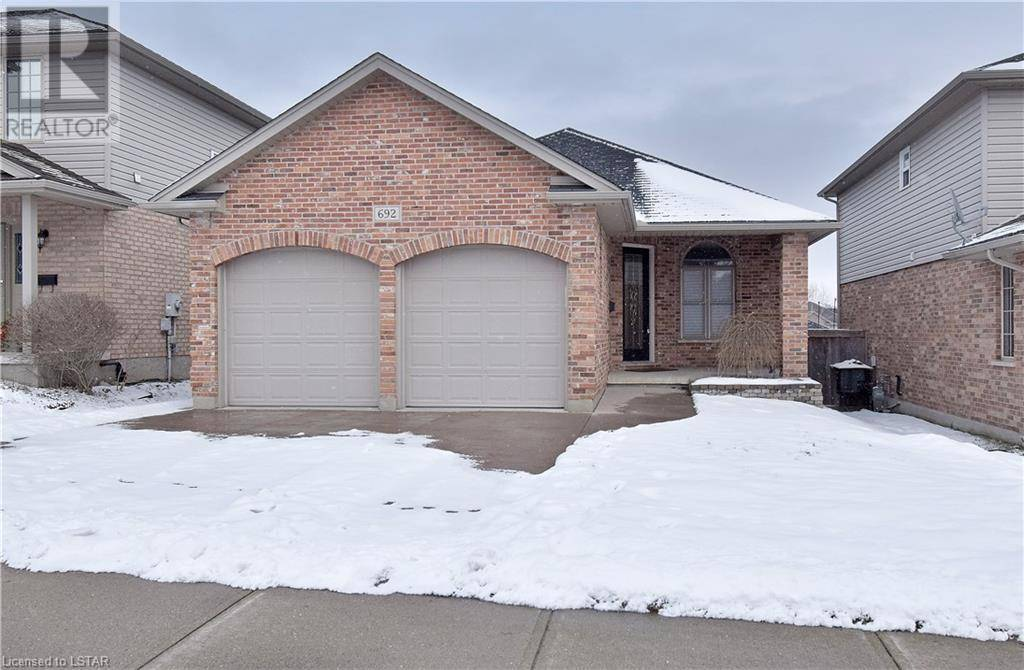 House for sale at 692 Clearwater Cres London Ontario - MLS: 244656