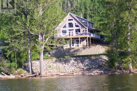House for sale at 6989 Lk Rd South Moberly Lake British Columbia - MLS: 178819