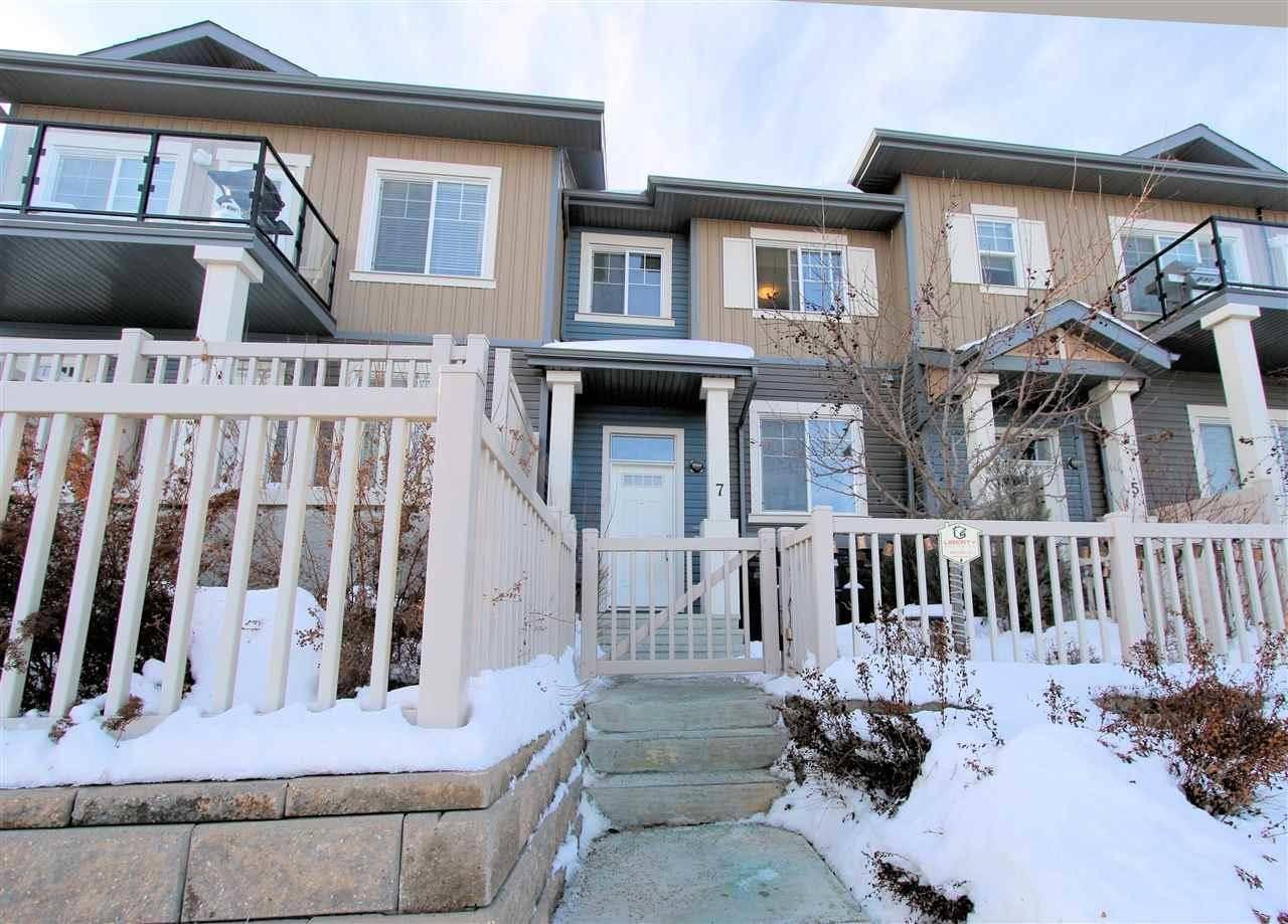 Townhouse for sale at 1030 Chappelle Blvd Sw Unit 7 Edmonton Alberta - MLS: E4186126
