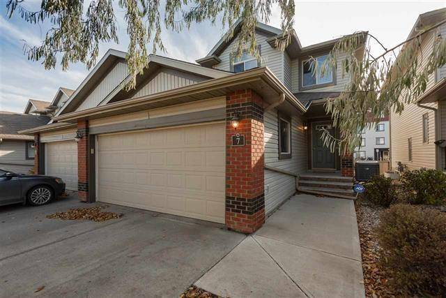 Townhouse for sale at 1128 156 St Nw Unit 7 Edmonton Alberta - MLS: E4182735