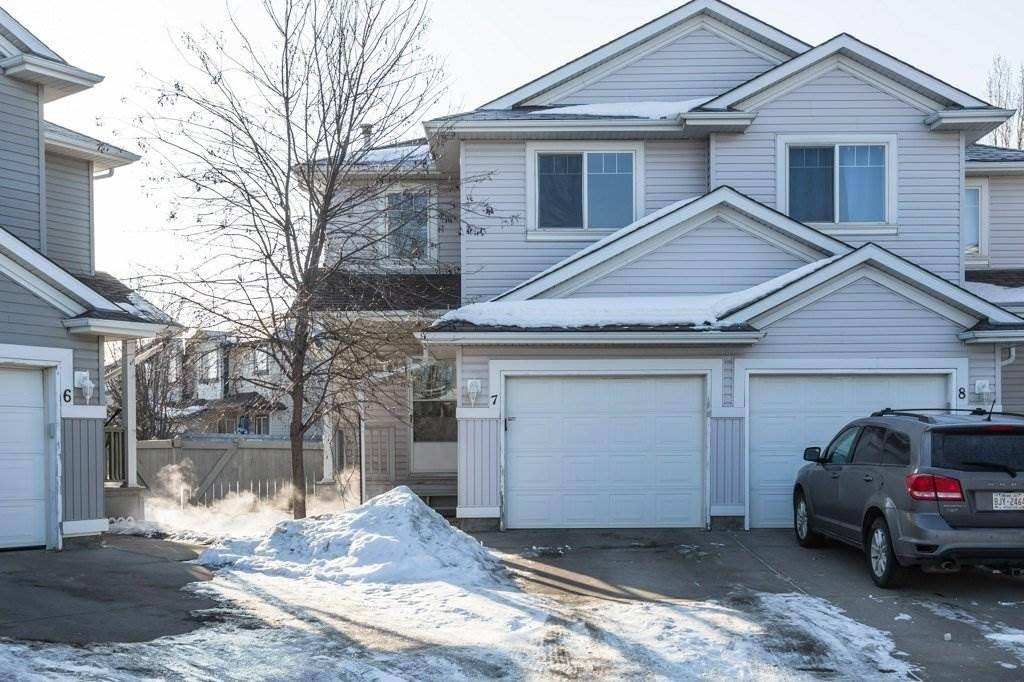 Townhouse for sale at 13403 Cumberland Rd Nw Unit 7 Edmonton Alberta - MLS: E4192222