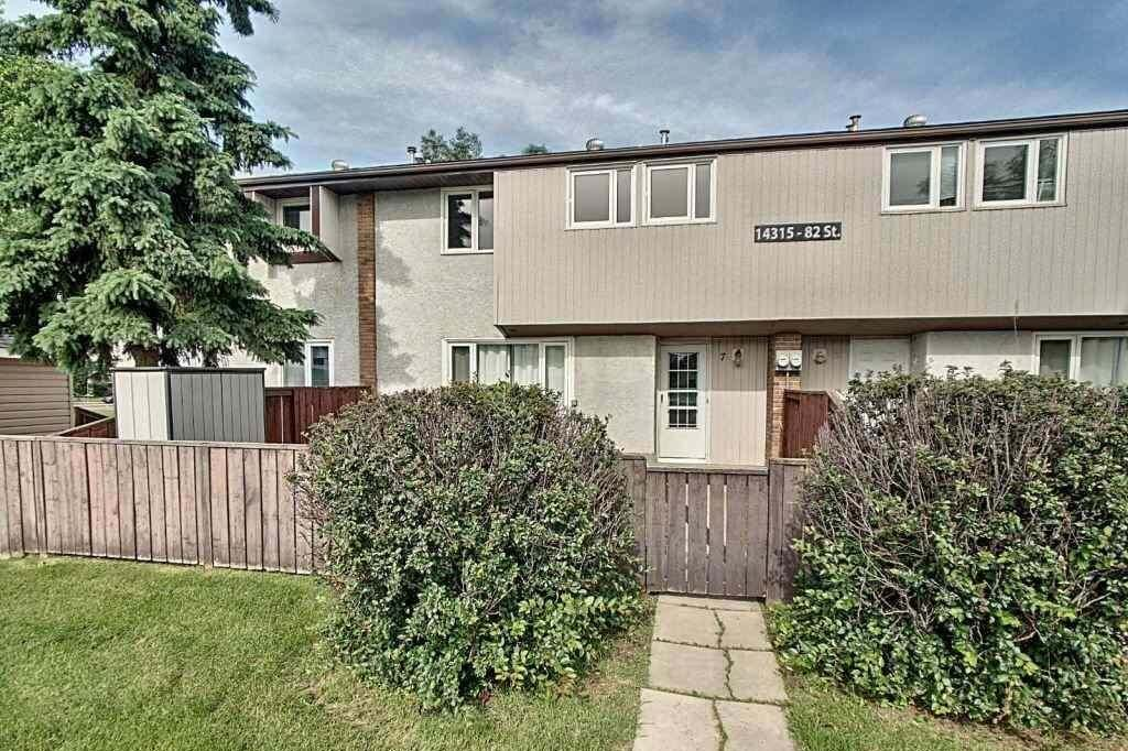 Townhouse for sale at 14315 82 St NW Unit 7 Edmonton Alberta - MLS: E4205942