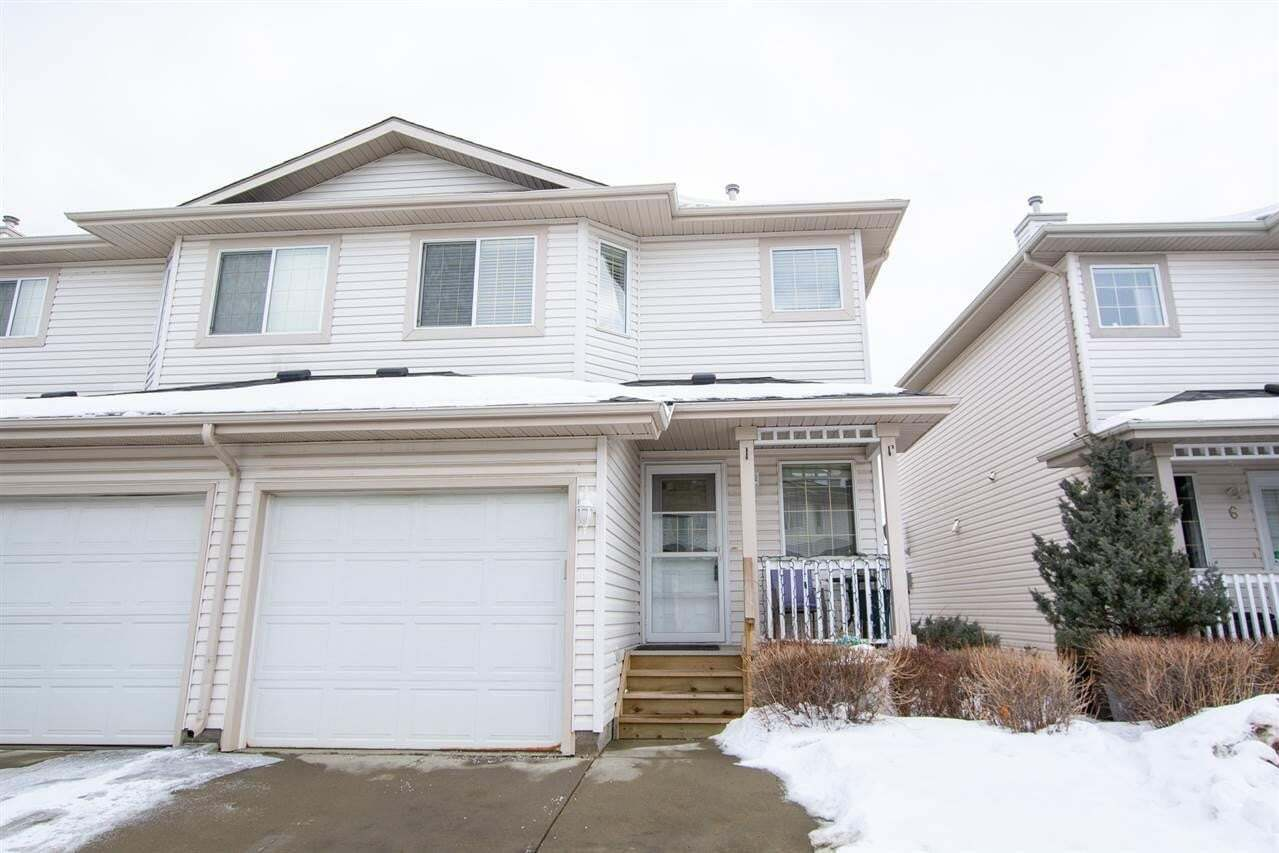 Townhouse for sale at 16933 115 St NW Unit 7 Edmonton Alberta - MLS: E4191246