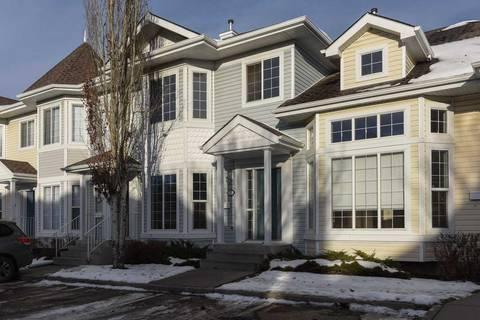 Townhouse for sale at 1780 Glastonbury Blvd Nw Unit 7 Edmonton Alberta - MLS: E4146226