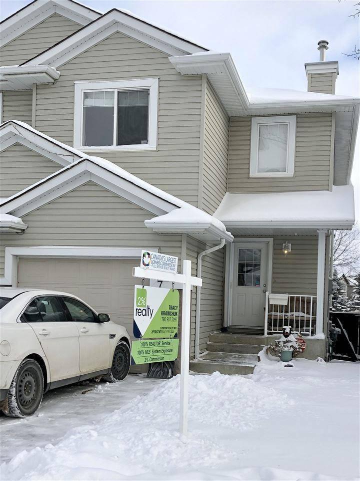 Townhouse for sale at 2021 Grantham Ct Nw Unit 7 Edmonton Alberta - MLS: E4175584