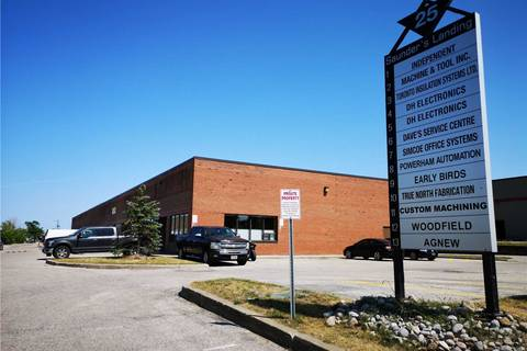 Commercial property for lease at 25 Saunders Rd Apartment 7 Barrie Ontario - MLS: S4551697