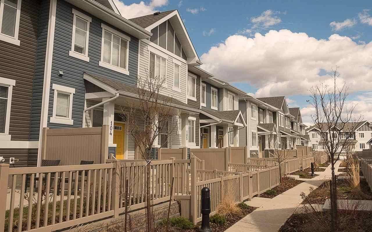 Townhouse for sale at 2905 141 St Sw Unit 7 Edmonton Alberta - MLS: E4175890