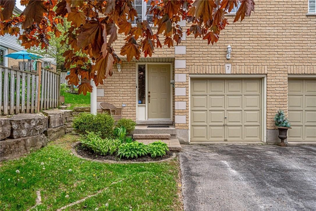 Townhouse for sale at 31 Moss Blvd Unit 7 Dundas Ontario - MLS: H4078845