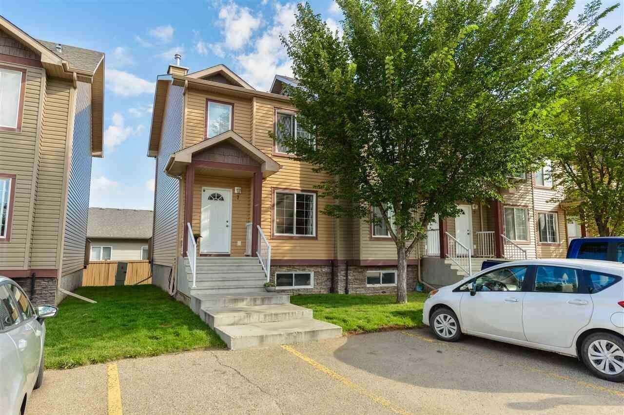 Townhouse for sale at 320 Spruce Ridge Rd Unit 7 Spruce Grove Alberta - MLS: E4212116