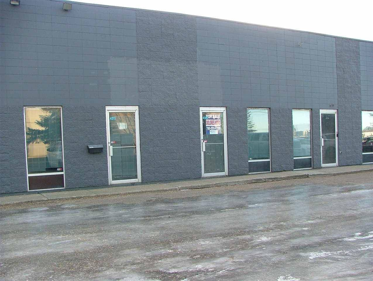 Commercial property for lease at 4311 78 Ave Ne Apartment 7 Edmonton Alberta - MLS: E4180736