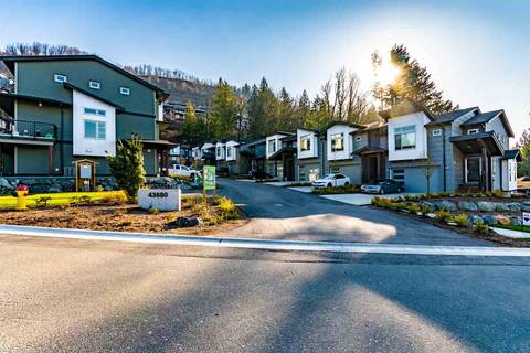 Townhouse for sale at 43680 Chilliwack Mountain Rd Unit 7 Chilliwack British Columbia - MLS: R2446486