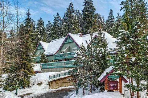Townhouse for sale at 4890 Painted Cliff Rd Unit 7 Whistler British Columbia - MLS: R2329254