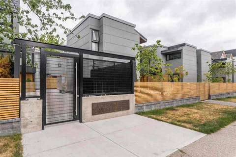 Townhouse for sale at 503 Pender St E Unit 7 Vancouver British Columbia - MLS: R2429590
