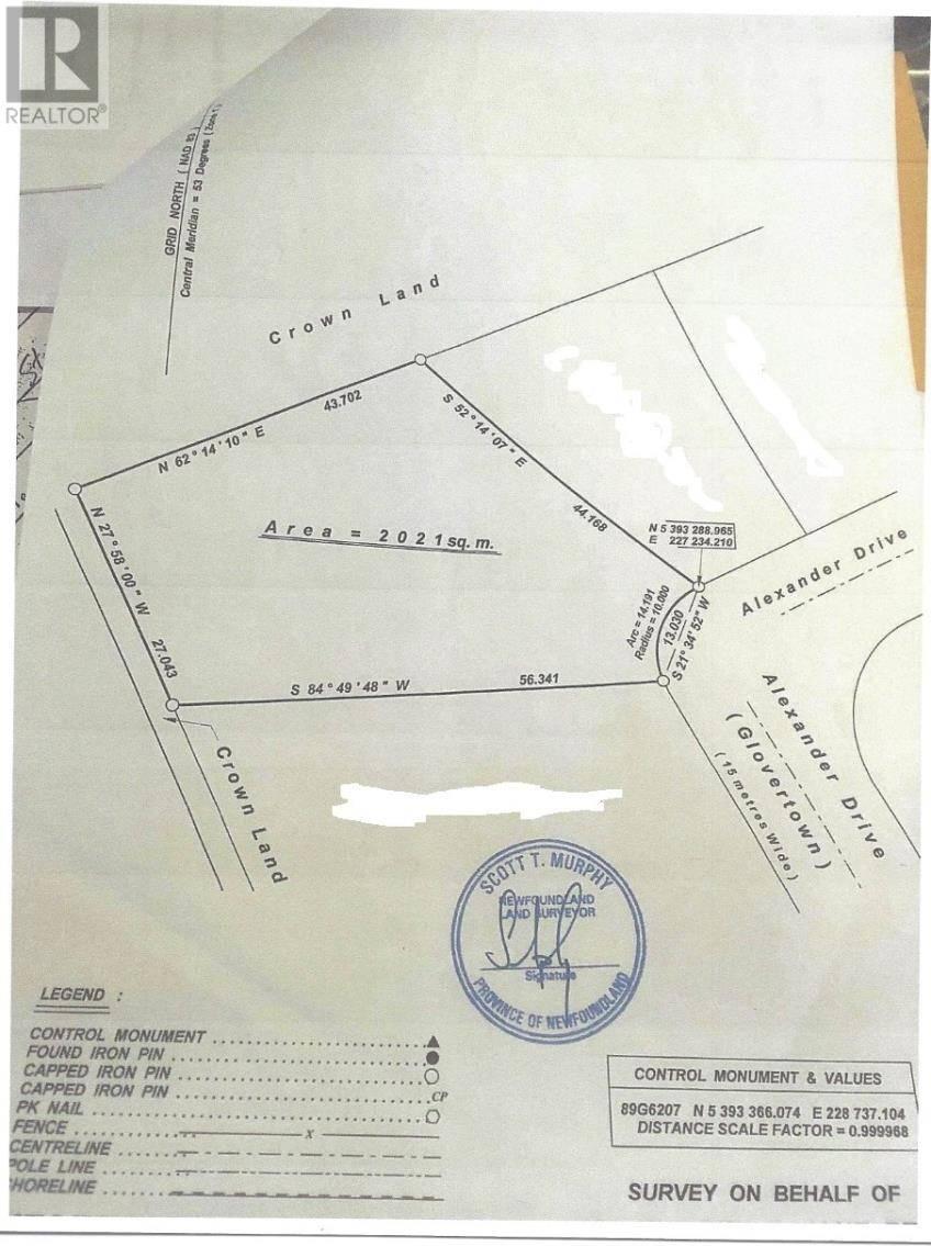 Home for sale at 52 Alexander Cres Unit 7 Glovertown Newfoundland - MLS: 1189328