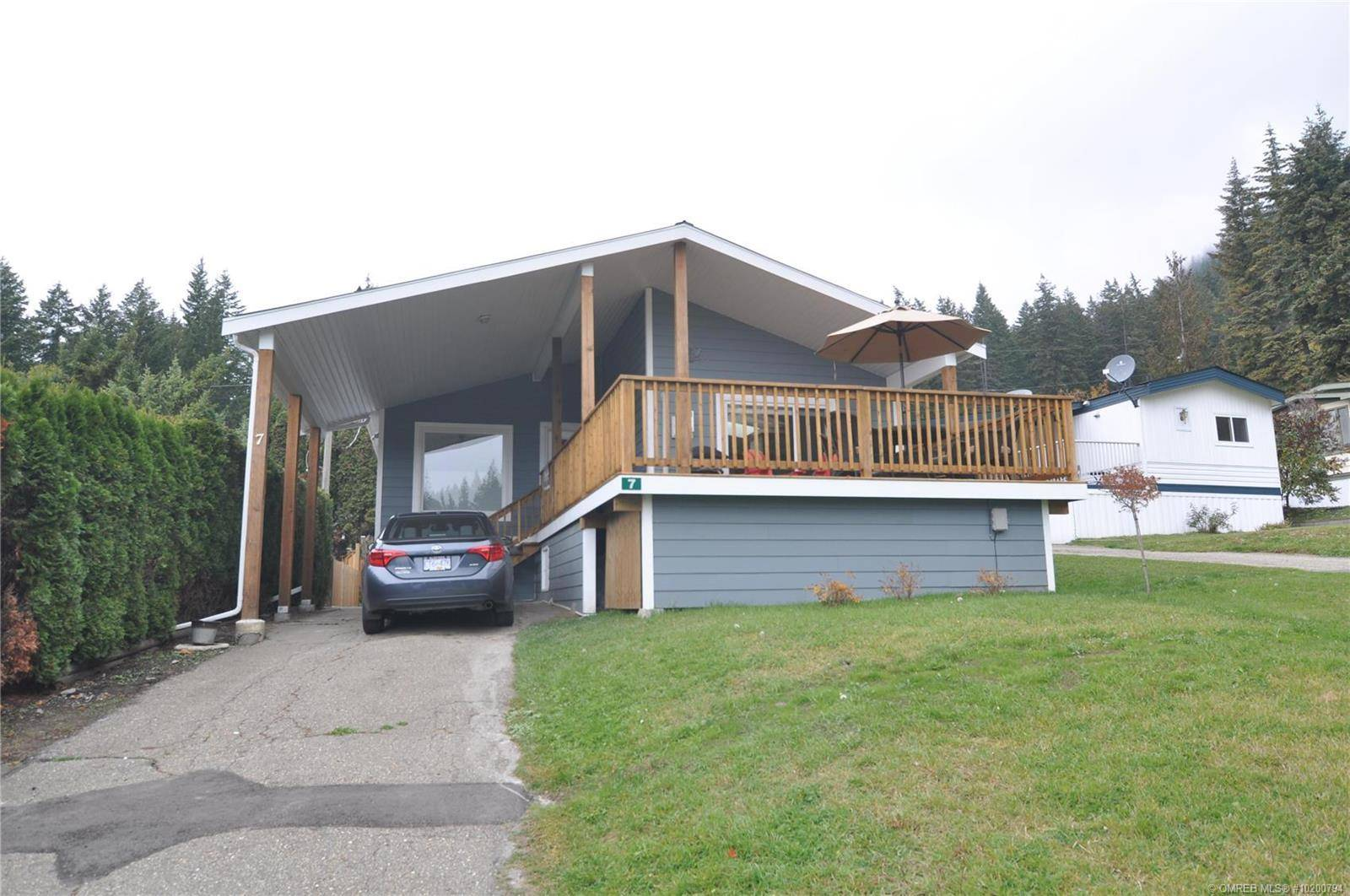 Residential property for sale at 537 Begbie Rd Unit 7 Tappen British Columbia - MLS: 10200794