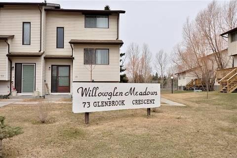 Townhouse for sale at 73 Glenbrook Cres Unit 7 Cochrane Alberta - MLS: C4238561