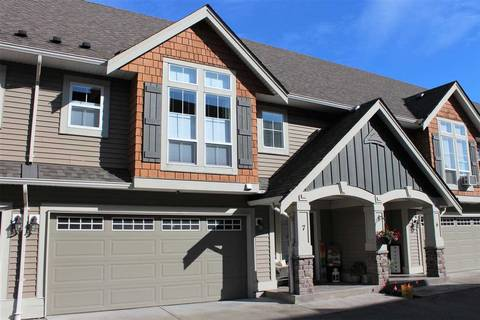 Townhouse for sale at 8945 Broadway St Unit 7 Chilliwack British Columbia - MLS: R2409160