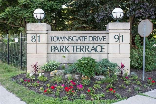 Park Terrace Ⅱ Condos: 91 Townsgate Drive, Vaughan, ON
