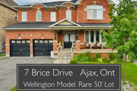 House for sale at 7 Brice Dr Ajax Ontario - MLS: E5000544