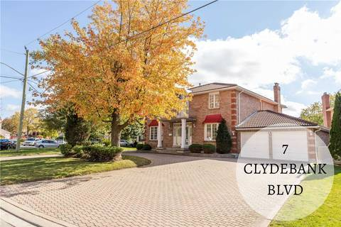House for sale at 7 Clydebank Blvd Toronto Ontario - MLS: E4619355