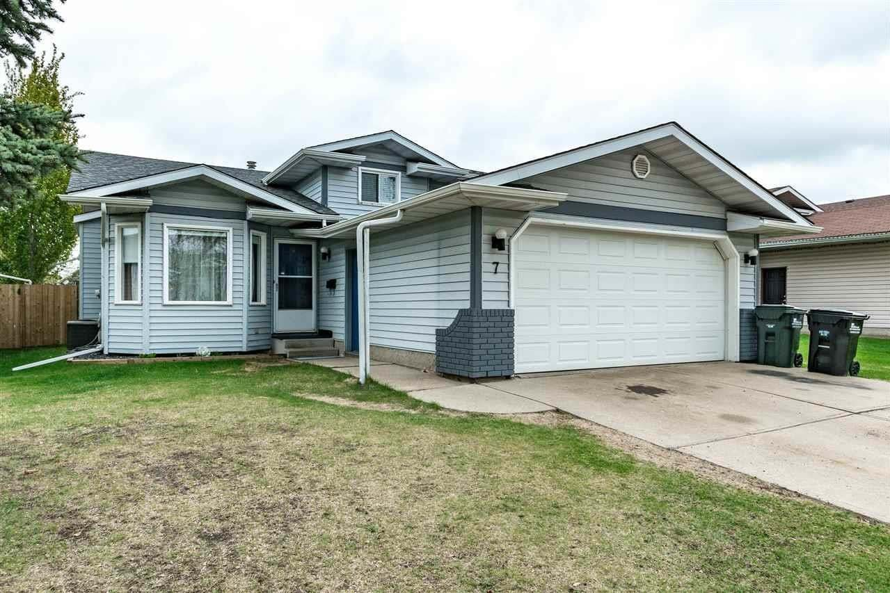 House for sale at 7 Coachman Wy Sherwood Park Alberta - MLS: E4198466