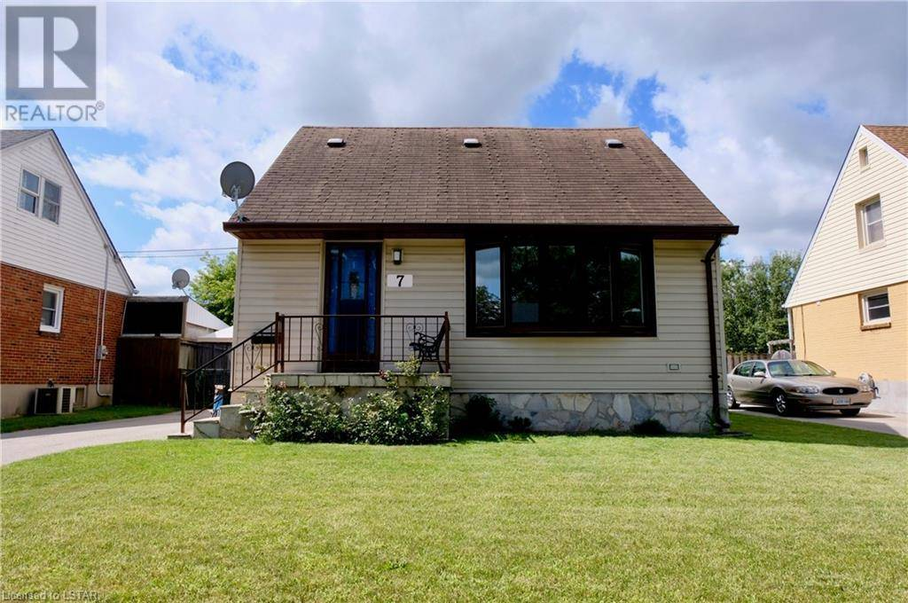 House for sale at 7 Cornish St London Ontario - MLS: 218895