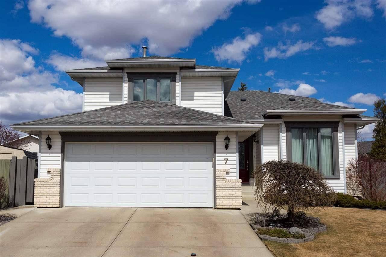 House for sale at 7 Deville Pl St. Albert Alberta - MLS: E4194832