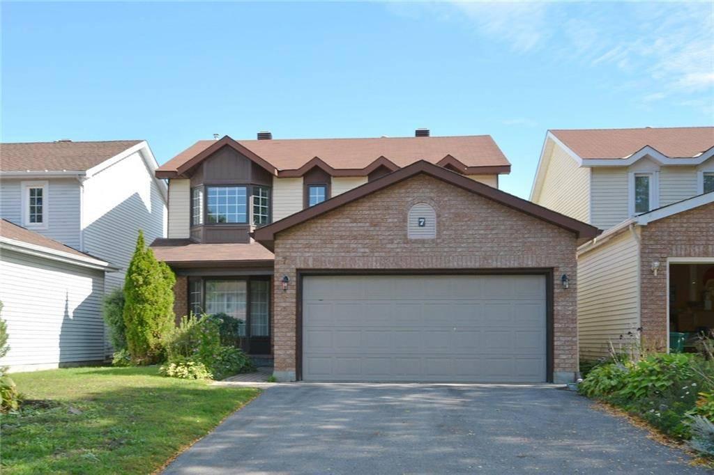 House for sale at 7 Ellisson Wy Ottawa Ontario - MLS: 1170982