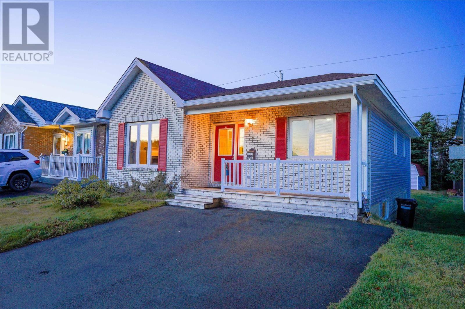 House for sale at 7 Errol Pl St. John's Newfoundland - MLS: 1207600