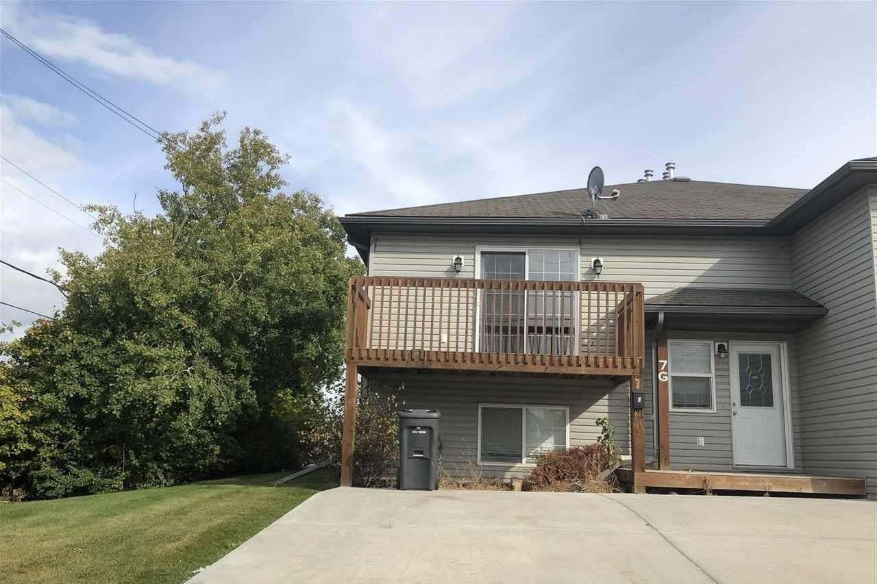 Townhouse for sale at 4716 49 St Unit 7/G Cold Lake Alberta - MLS: E4214888