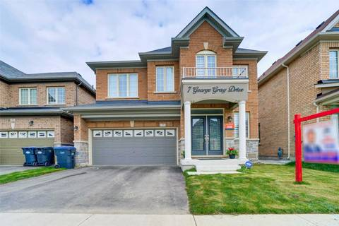 House for sale at 7 George Gray Dr Brampton Ontario - MLS: W4455313
