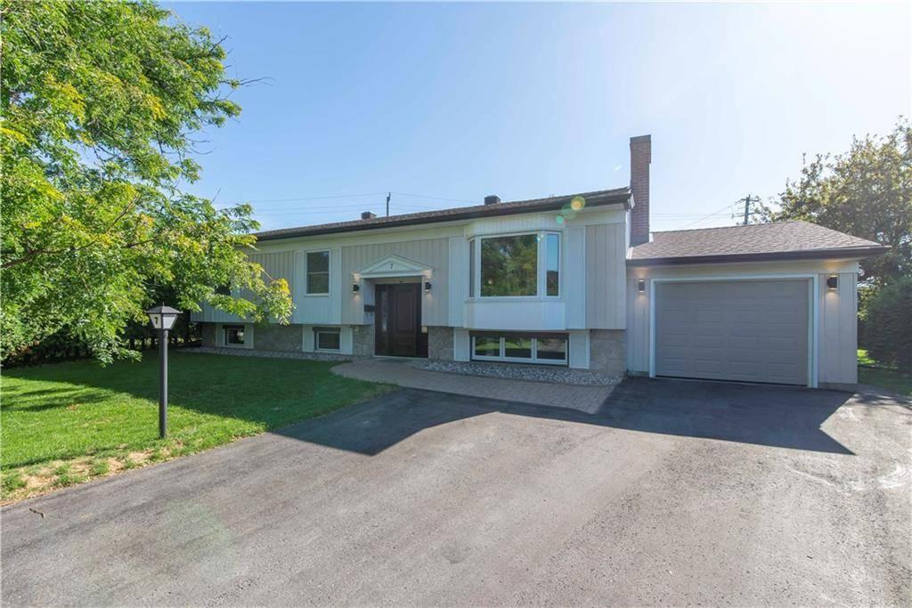 House for sale at 7 Glenridge Rd Ottawa Ontario - MLS: 1168762