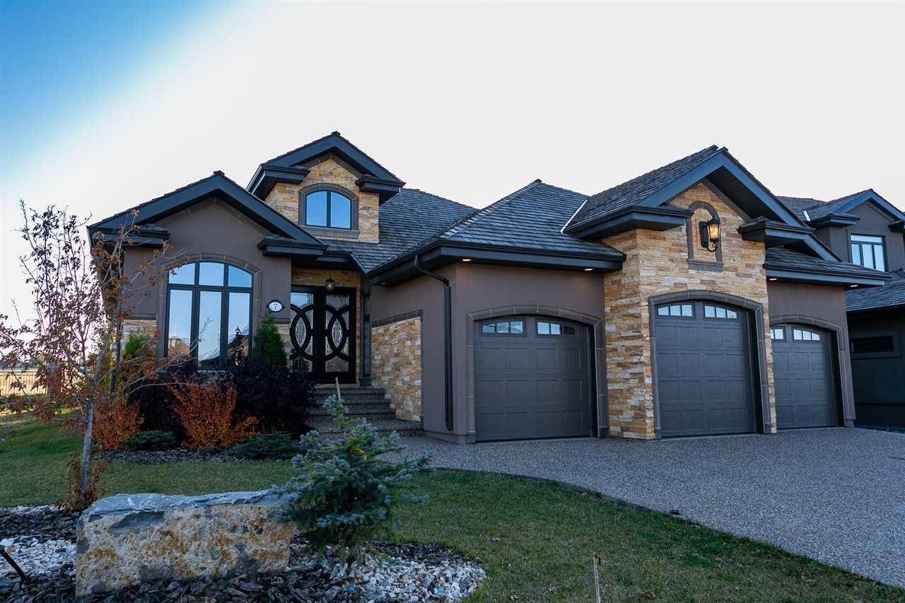 House for sale at 7 Kingsmeade Cres St. Albert Alberta - MLS: E4177456