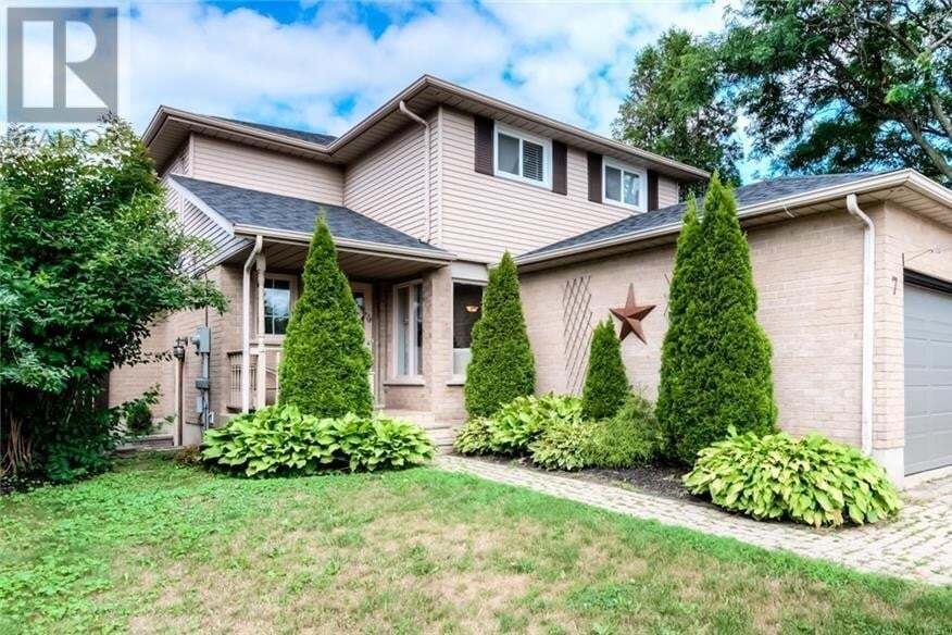 House for sale at 7 Kolb St Cambridge Ontario - MLS: 30825095